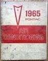 Shop manual tillägg, Pontiac 1965