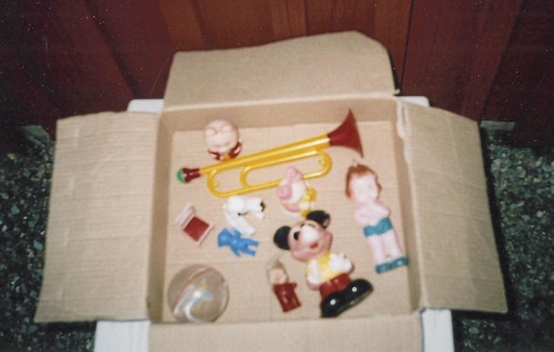 Leksaker i plast