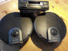 Sony Bilstereo blaupunkt högtalare