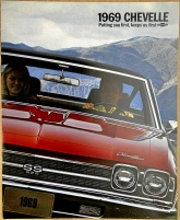 Broschyr Chevrolet Chevelle 1969