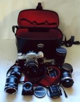 Miranda kamera med objektiv