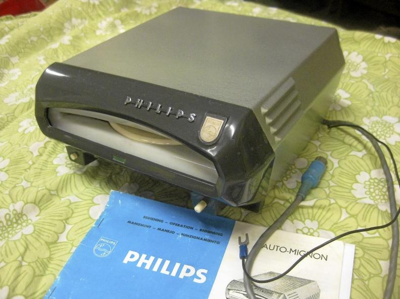 Philips Auto Mignon skivspottare