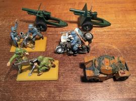 Modeller av militära saker