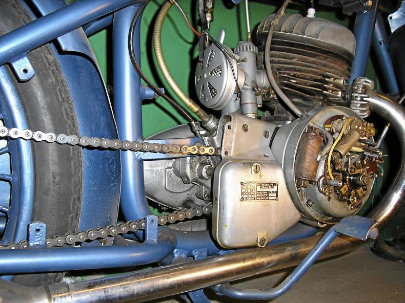 Monark M-400   årsmod 1951