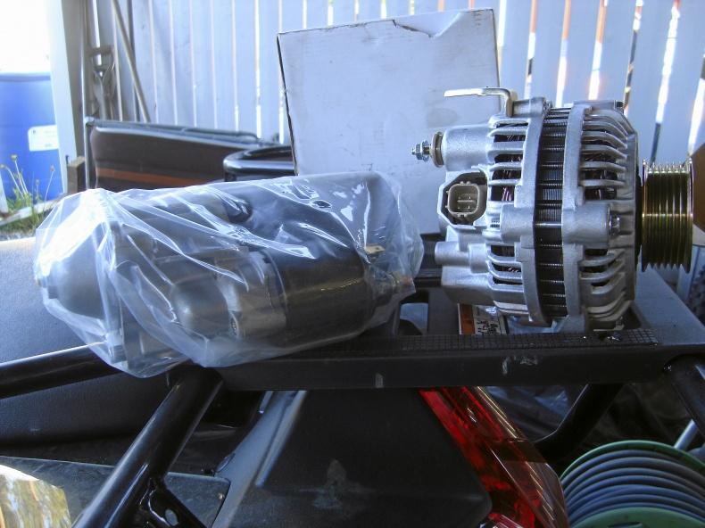 Volvo generator startmotor