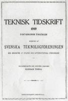 Teknisk tidskrift