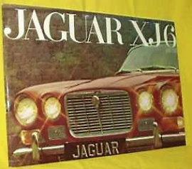 Broschyr Jaguar XJ6 serie 1