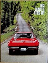 Broschyr Chevrolet Corvette 1965