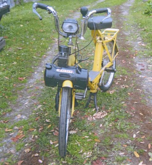 Knallert moped