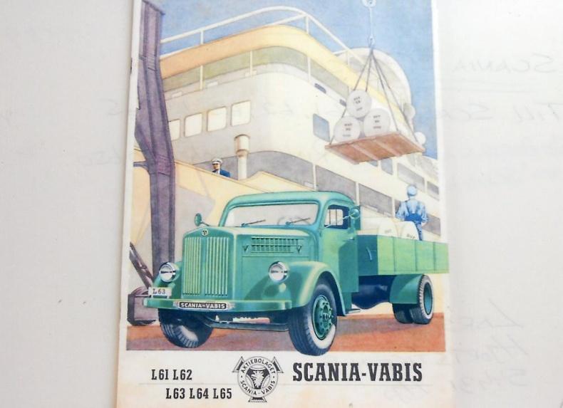 Scania broschyr