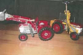 Corgi traktorer