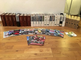 Tidning AUTOMOBIL, Unik samling, Alla nr 1982-2012