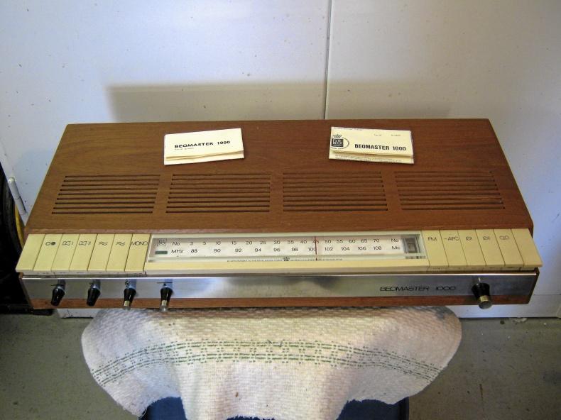 Beomaster 1000 Stereo receiver/förstärkare