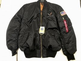 CORVETTE STINGRAY FLIGHT JACKET