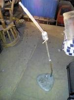 Lampfot för industribelysning
