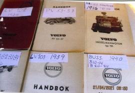 Volvo handböcker