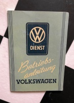 Manual för VW. 1950