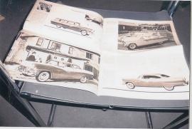1956 Usa och Engelska bilar