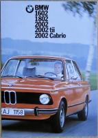 Broschyr BMW 02 1975