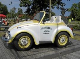 Helt unik bil avkortad VW 1500