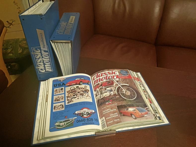 Samlingspärmar av Classic Motors