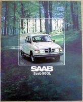 Broschyr Saab 96 GL 1979