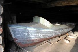 Michigan steel boat