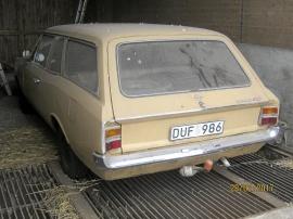 """Opel från filmen """"Korparna"""""""
