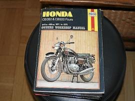 Reparationsbok Honda mc