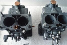 Weberförgasare 2-port 36-36DCD, 28-36DCD