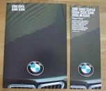 Broschyr BMW 518i 5201 528i 535i 1986
