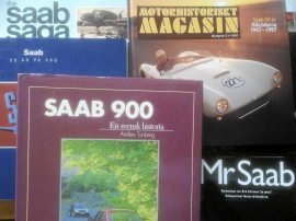 Saab div. böcker