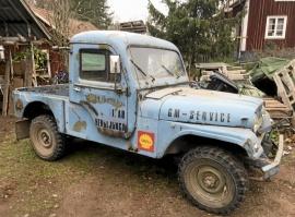 mobile_Jeep CJ6 f.d. militär flygplatsbil BeGe-hytt