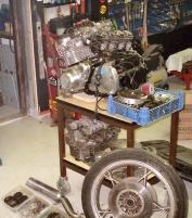 Suzuki 1000 cc motor
