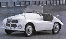 En av världens minsta bilar