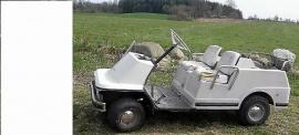 Harley-Davidson golfbil