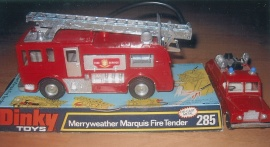 Brandbilar Dinky Toys