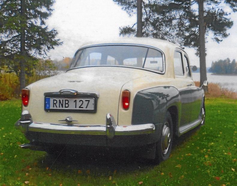 Rover P4 100