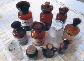 Medicinflaskor