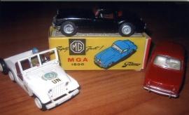 Modellbilar Tekno och Dinky