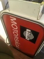 Ljusskylt 60-tal STIHL Motorsågar