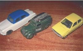 Modellbilar Dinky-Schuco