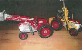 Modelltraktorer 1/43
