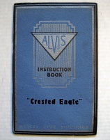 ALVIS CRESTED EAGLE