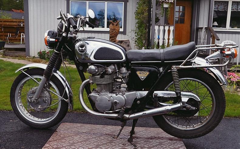 mobile_Honda CB 450
