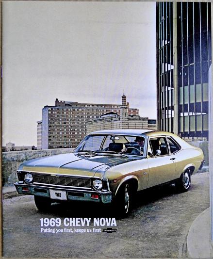 Broschyr Chevrolet Nova 1969