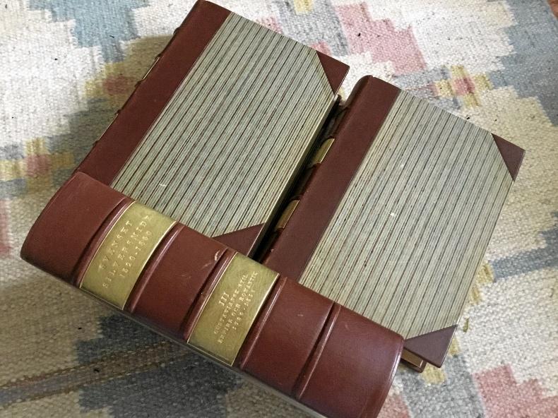 SVENSKT SILVERSMIDE År 1520-1850, 3 Volymer