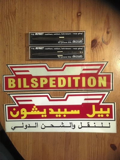 Bilspedition kuriosa