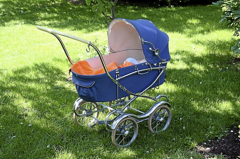 Emmaljunga barnvagn 1964