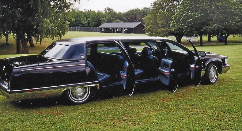 Unik Cadillac enligt bild